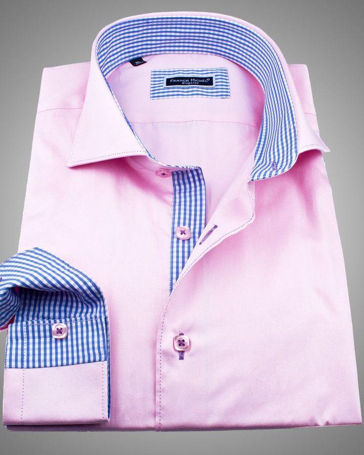 Pink Dress Shirt Men