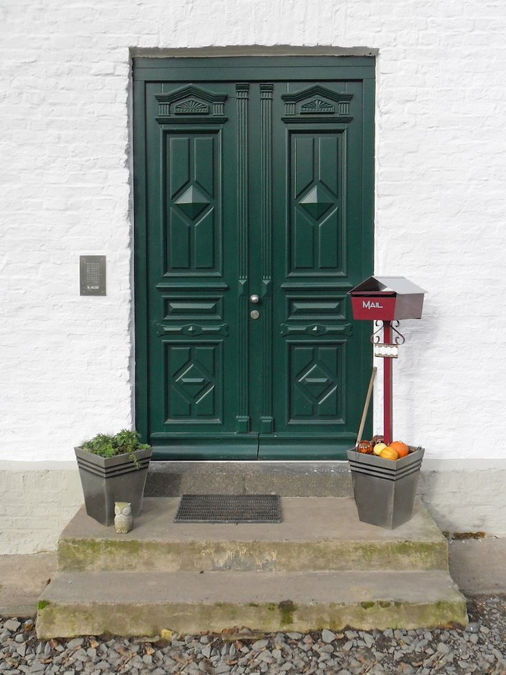 Haustür holz grün  23 besten Haustüren // Entry Doors Bilder auf Pinterest | Holz ...