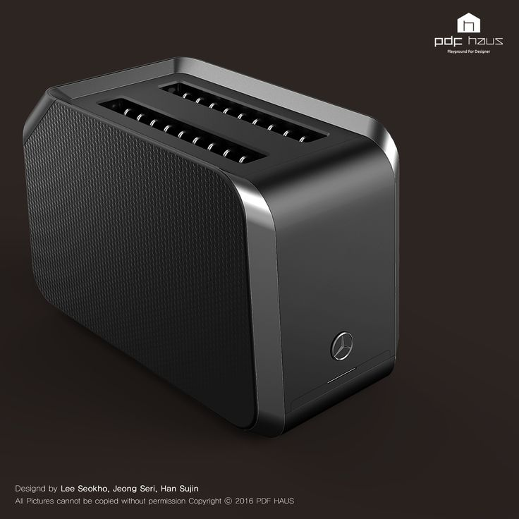 Benz / Toaster / Product design / Industrial design / 제품디자인 / 산업디자인 / 디자인교육_PDF HAUS Design Academy
