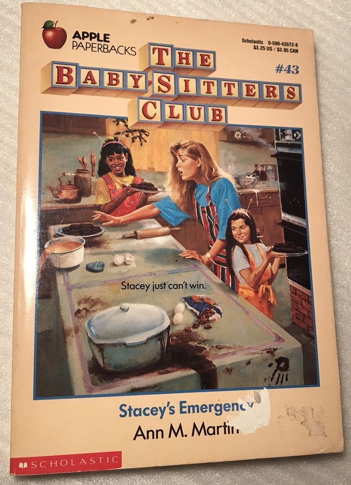 The Baby - Sitters Club Stacey's Emergency No. 43 by Ann M. Martin 1991 Paperbk  | eBay