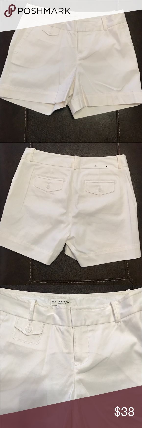 Banana Republic Martin Fit Shorts - 4 Inch Inseam Banana Republic Martin Fit Shorts - 4 Inch Inseam - Worn Once 98% Cotton 2% Spandex Banana Republic Shorts