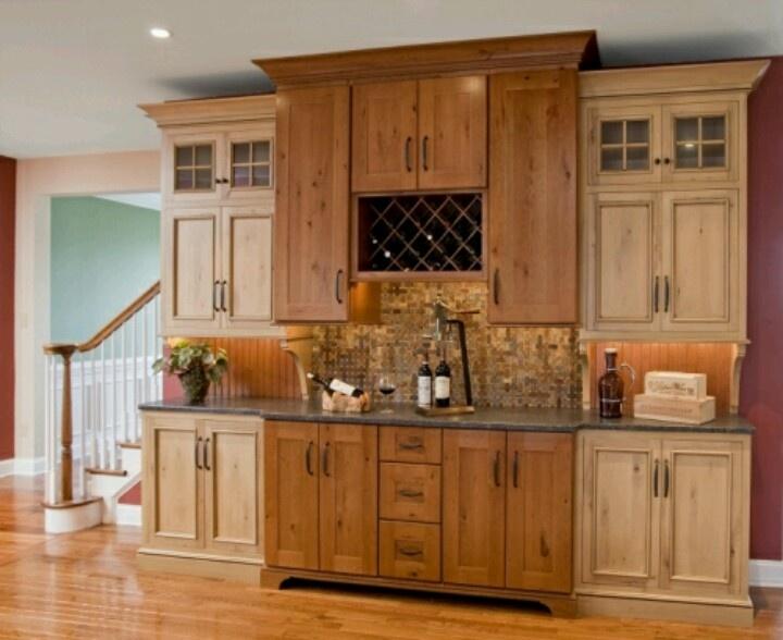 Dining Room Built In Buffet Bar Kitchen Design Pinterest