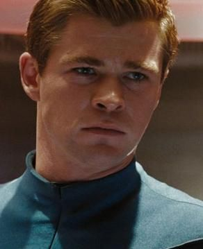 Chris Hemsworth - as George Kirk in Star Trek 2009. Having a moment of clarity now that I realize Thor was Captain Kirk's dad.