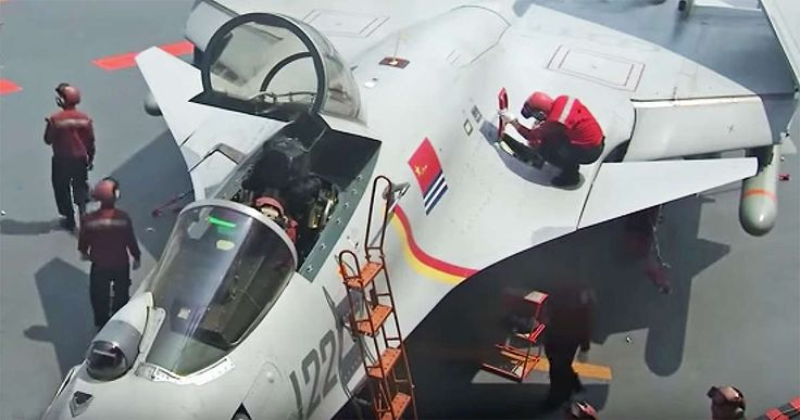 http://www.thedrive.com/the-war-zone/12096/new-flight-ops-video-from-chinas-carrier-features-loaded-up-j-15-fighters