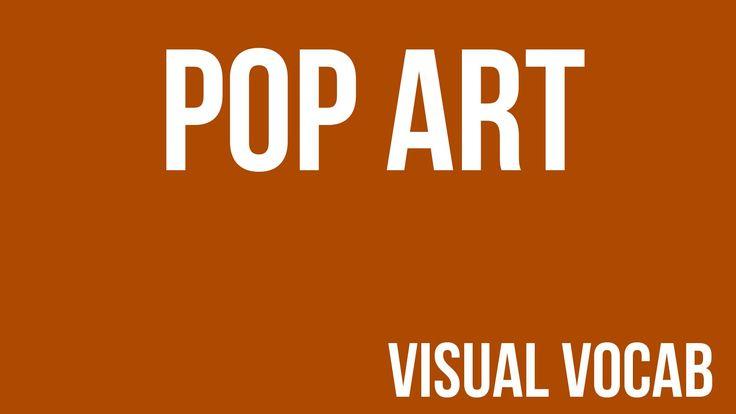 Pop Art defined - From Goodbye-Art Academy