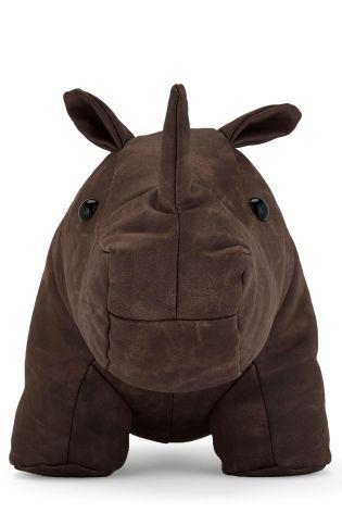 Ron The Rhino Doorstop from Next