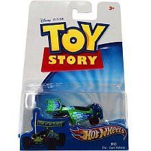 "Disney / Pixar Toy Story 3 Hot Wheels Die Cast Vehicle Little Green Speedster by Mattel. $7.99. Inspired by the Disney/Pixar Animated Film, ""Toy Story 3"". For ages: 4 and up. This assortment brings kids their favorite Toy Story characters - in car form! Each 1:64-scale car has a die-cast body and plastic chassis that's sure to be popular with both kids and collectors."