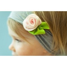 Baby Headbands $3: Babies, White Flower, Baby Headbands, Flower Headbands, Flower Design, Baby Girl, Head Band, Pink Rose, Hair Accessories