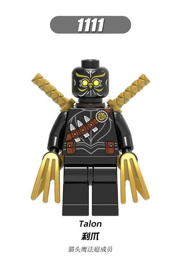 DC Batman Mini Action Block Figure for Lego