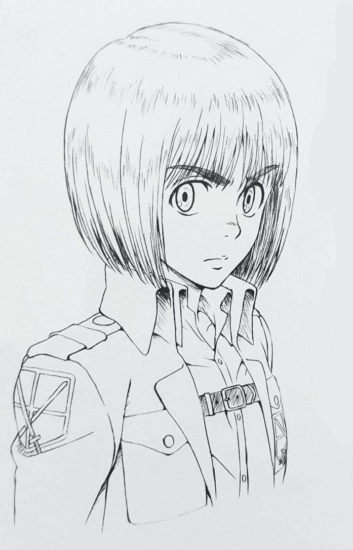 Armin Why You Arm Out On Us Desenhos De Anime Desenhos