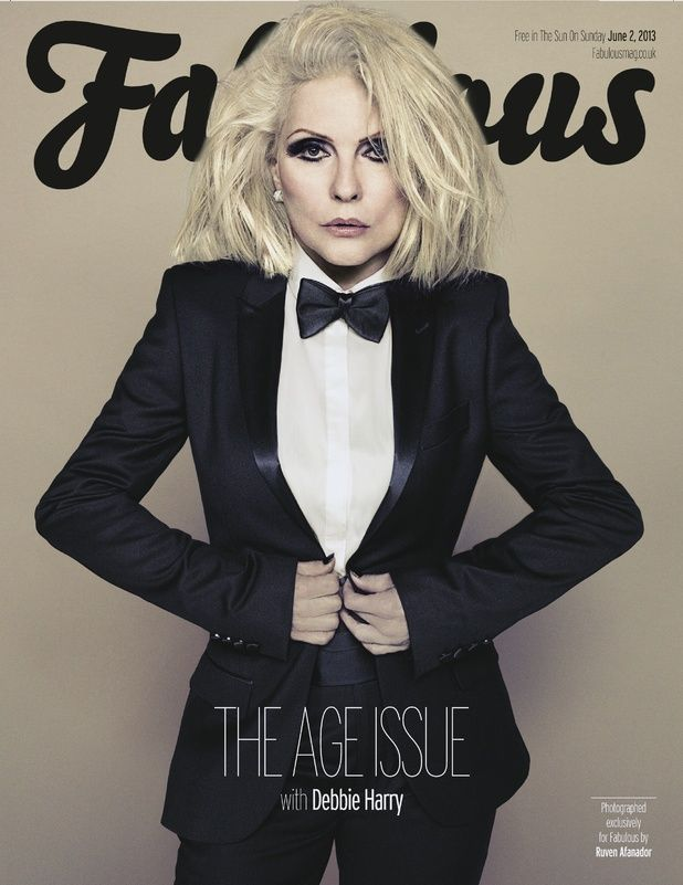 debbie harry in bazaar magazine | Blondie's Debbie Harry fronts 'Age Issue': 'Sex is very important'
