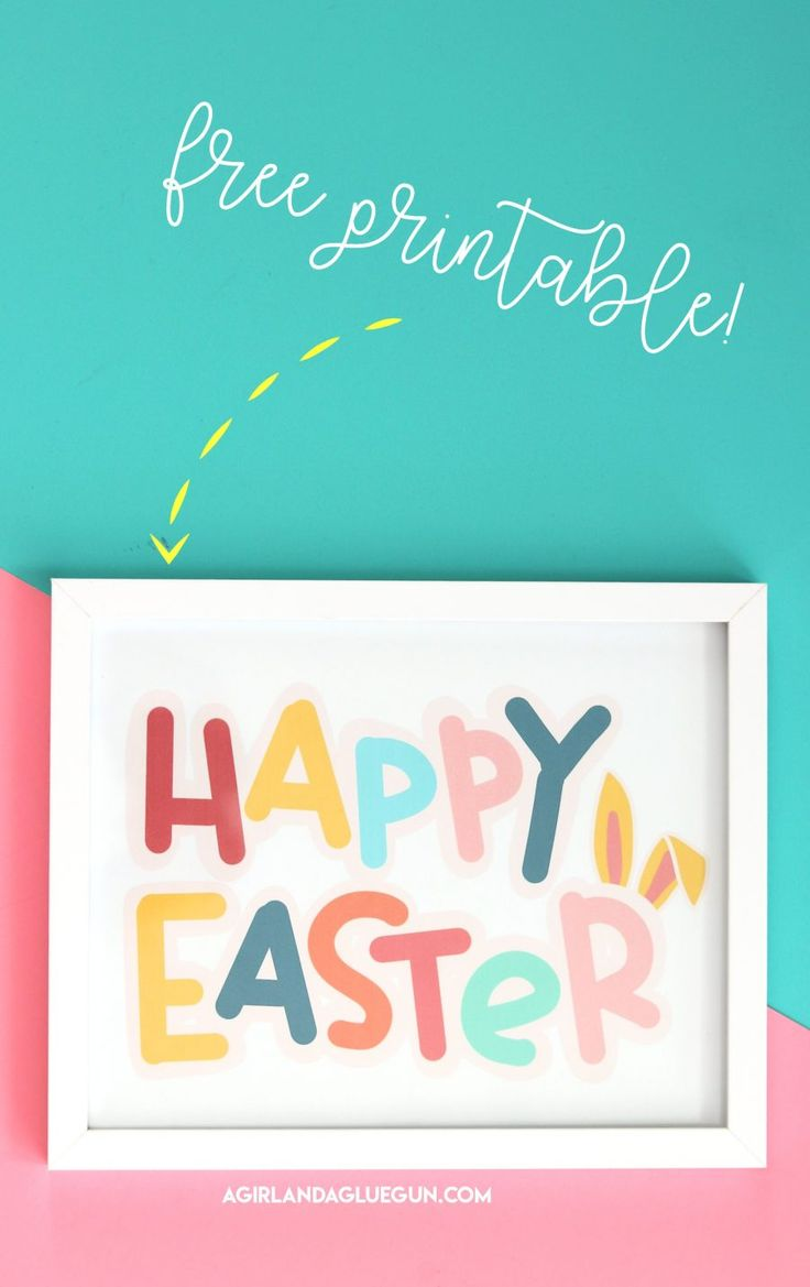 Happy Easter printable   – Easter