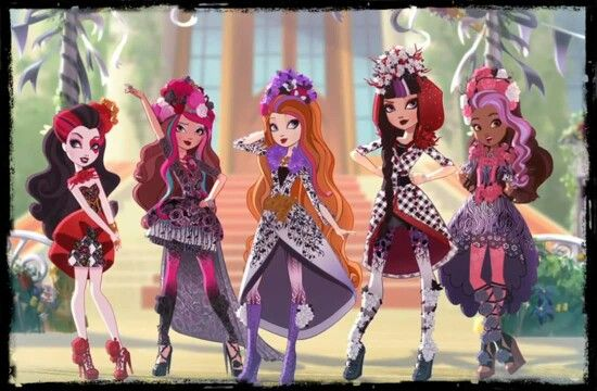 Ever After High Spring Unsprung pose