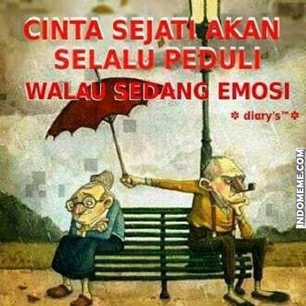 Cinta sejati akan selalu peduli - #Meme - http://www.indomeme.com/meme/cinta-sejati-akan-selalu-peduli/