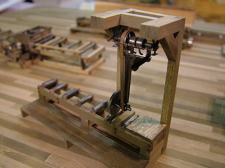 Sawmill For The Tin Can Bay Lumber Co On30 Model