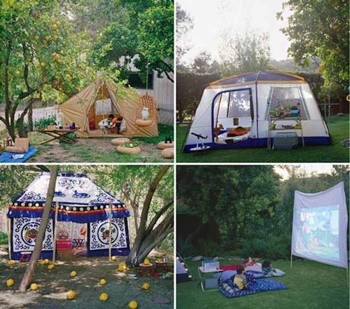 Birthday Party Camp Out