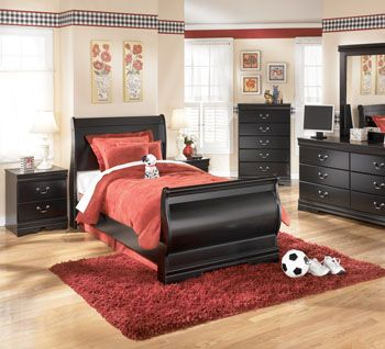 shop for the signature design by ashley huey vineyard twin sleigh bed at furniture mart colorado your denver northern colorado fort morgan sterling
