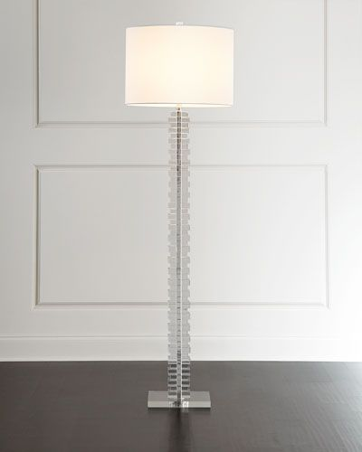 299 best lighting lamps images on pinterest neiman marcus stacked acrylic floor lamp aloadofball Image collections