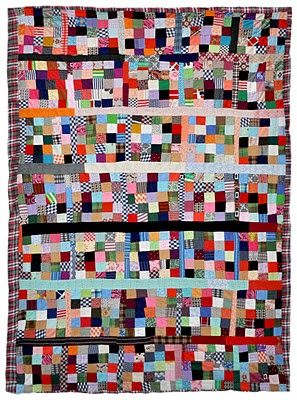 25-Patch Grid, c. 1970, Michigan