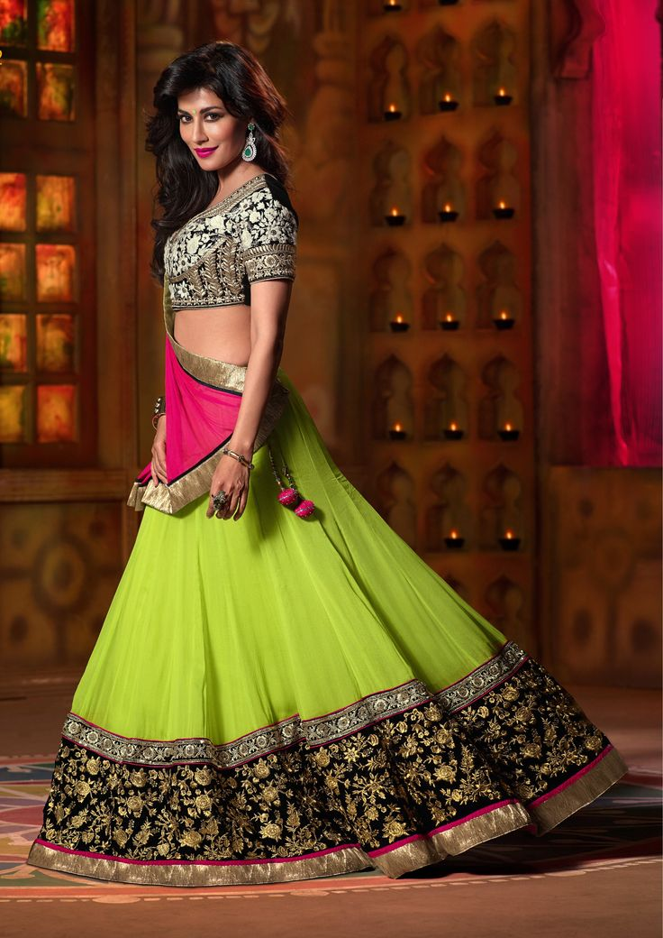 Pics For > Student Of The Year Alia Bhatt Green Lehenga