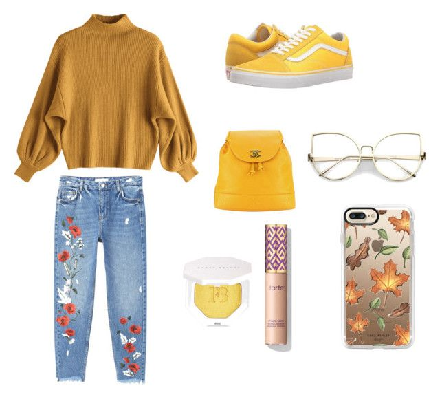 """Untitled #26"" by sofiaskvrekova on Polyvore featuring MANGO, Vans, Chanel, Puma and Casetify"