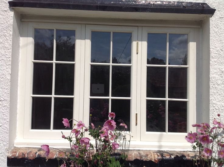 Traditional hardwood casement style window made and fitted by Burke joinery in Kildare. See our website www.burkejoinery.ie for more designs