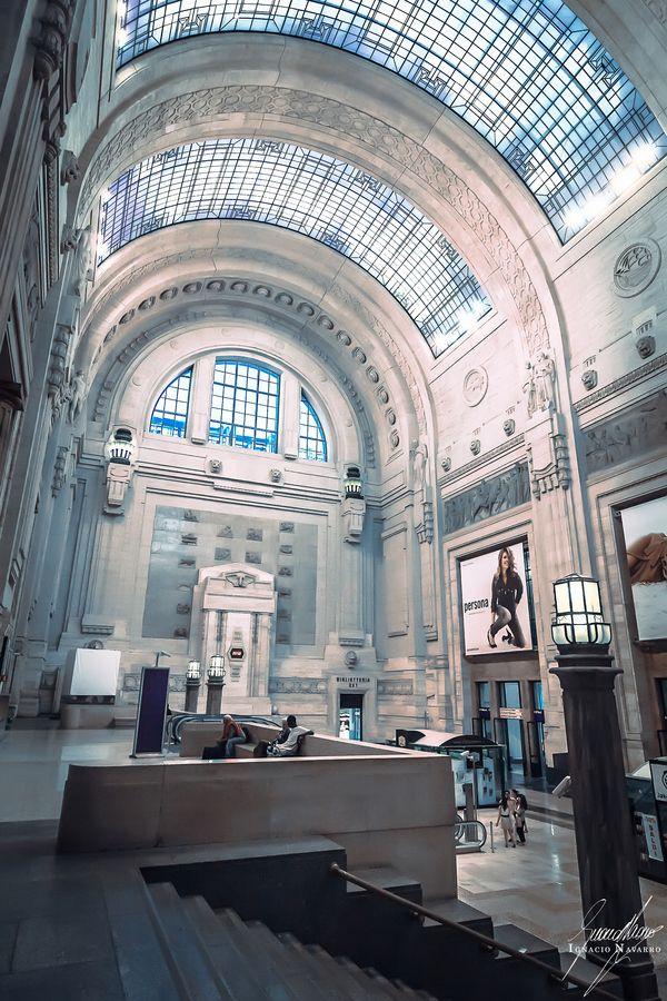 Milan VII. Stazione di Milano Centrale by Ignacio  Navarro  on 500px