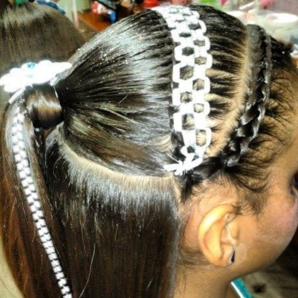 Bello Peinado Con Cinta Peinados Para Ni 209 As Pinterest