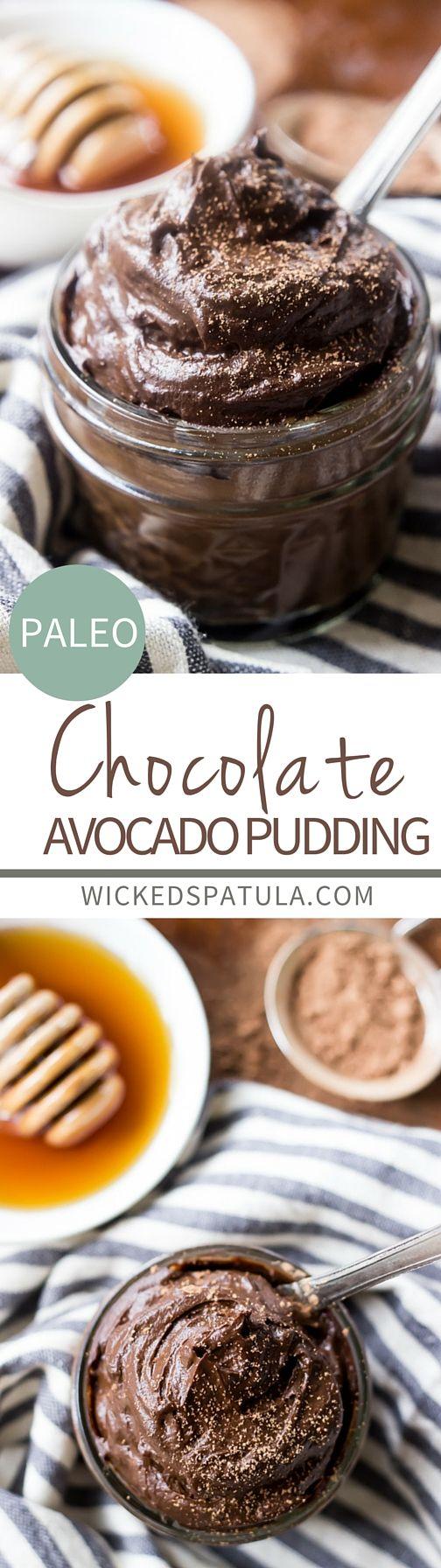 Healthy chocolate avocado mousse recipe #raw #vegan #healthy #dessert #recipe #chocolate #avocado #mousse #pudding