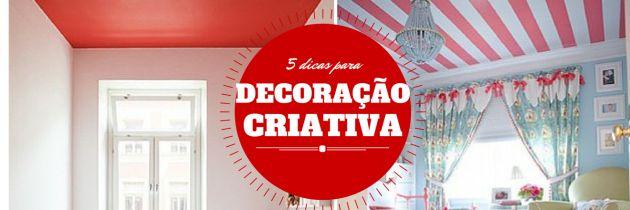 5 dicas essenciais para decoração criativa :http://blogchegadebagunca.com.br/5-dicas-essenciais-para-decoracao-criativa/