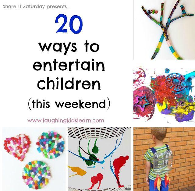 20 activities children can do on a weekend