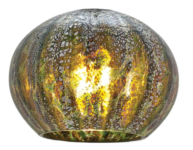 "Safari 5"" Glass Sphere Pendant Shade"