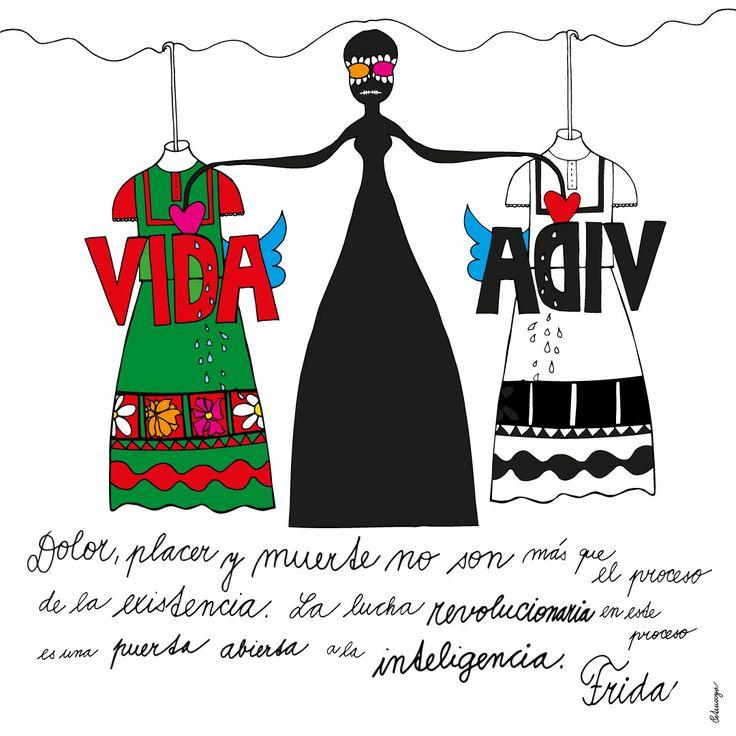 Frida quote by Petruccya
