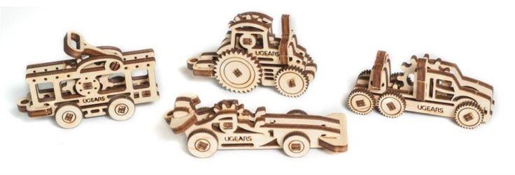 UGEARS 3D puzzle U-Fidget Dopravní prostředky