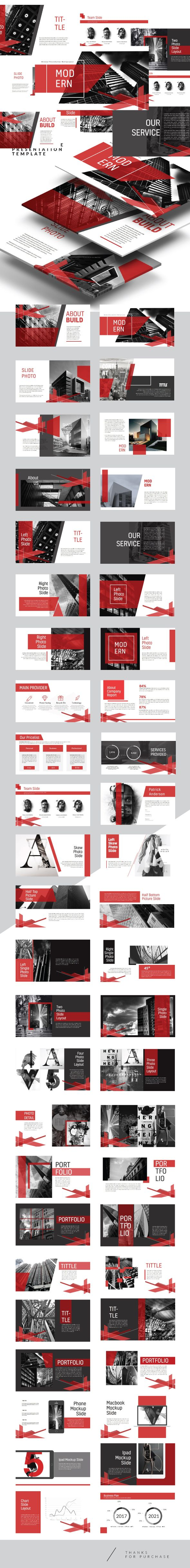 Arch - Creative Multipurpose PowerPoint Template
