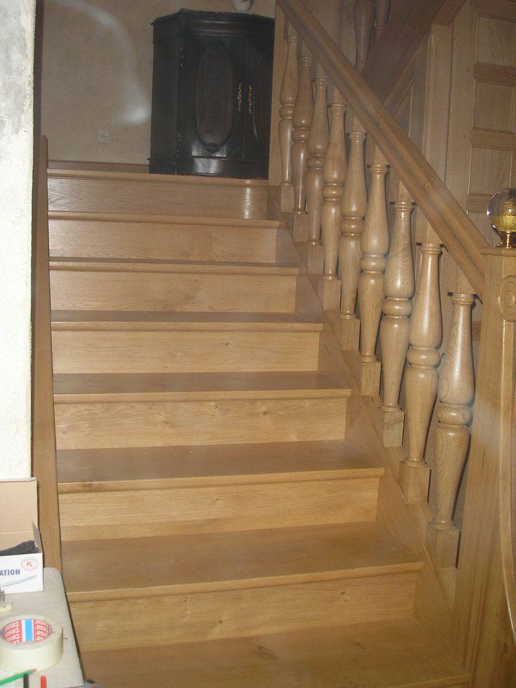 vue du bas de l 39 escalier r alisation d 39 un escalier en mini spot led pinterest spot led. Black Bedroom Furniture Sets. Home Design Ideas