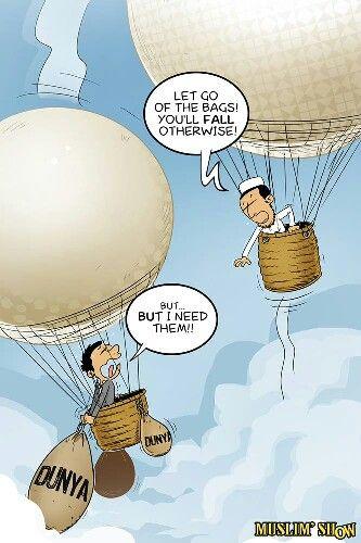 More u let go . More u get high