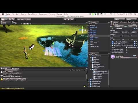 226. Unity3d Tutorial - Animated Texture - YouTube