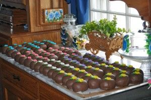 """Homemade Chocolate Crunch Easter """"Eggs"""" - Amish Recipes Oasis Newsfeatures"""
