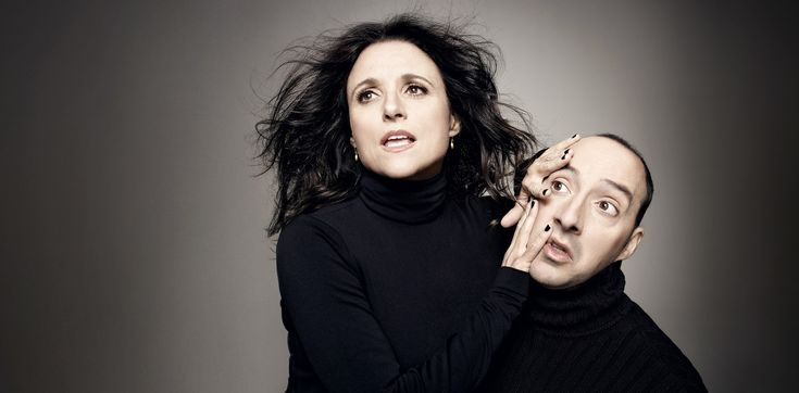 Art Streiber's photography that accompanies this article is stunning! | Julia Louis-Dreyfus and Tony Hale's Demented Double Act on 'Veep' - The New York Times #portrait #photography