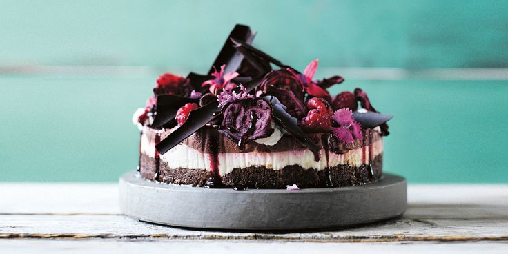 "Sarah Wilson ""pimped"" her original Crunchynut Cheesecake in her latest cookbook I Quit Sugar: Simplicious to make it a celebratory red velvet version!"