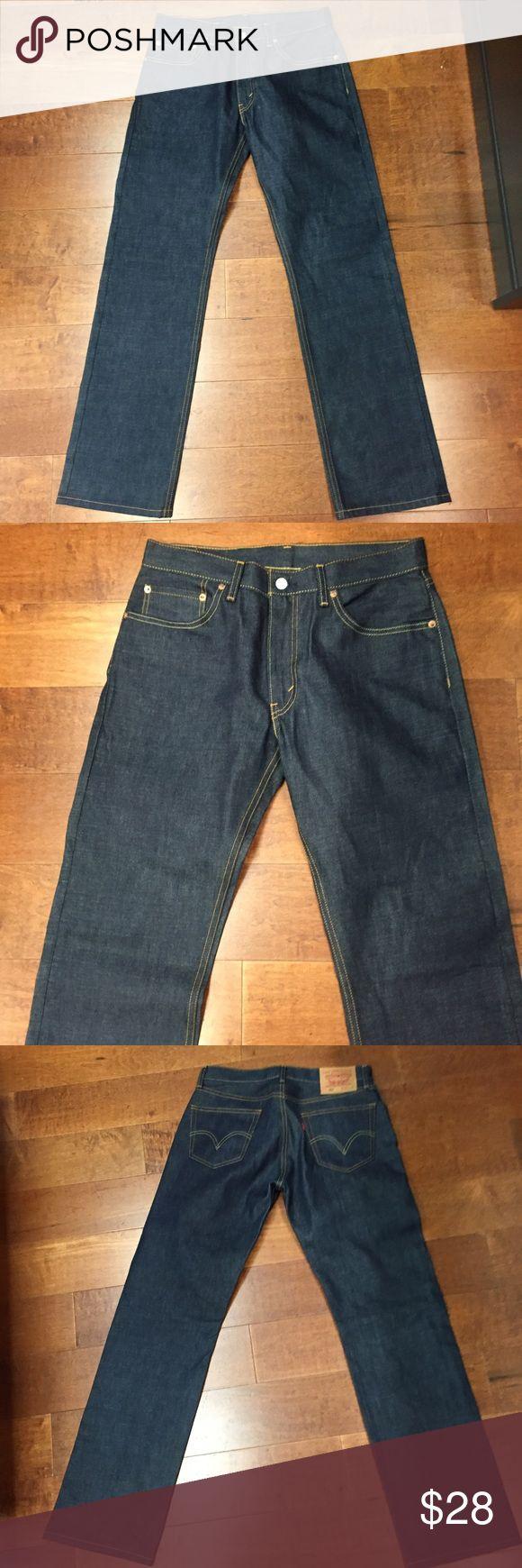 "Levis 505 NEW wot size W31 L32 NEW without tags original Levis 505 jeans W31 L31 rise 10"" bell 8.75"" Levi's Jeans Boot Cut"