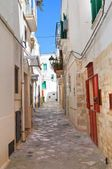 Ruelle. Fasano. Puglia. Italie Images De Stock Libres De Droits