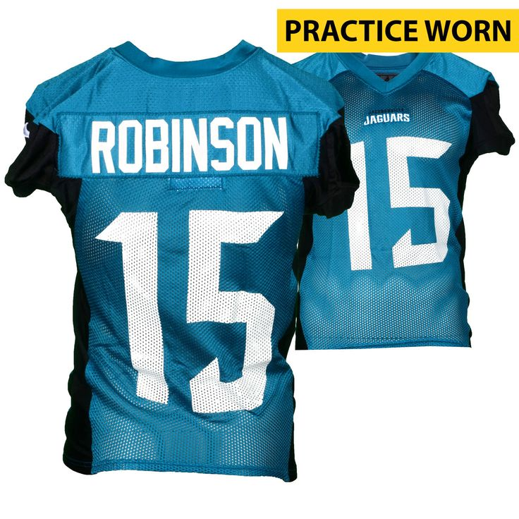 Allen Robinson Jacksonville Jaguars Fanatics Authentic Practice-Used #15 Teal Jersey from the 2016 Season - $279.99