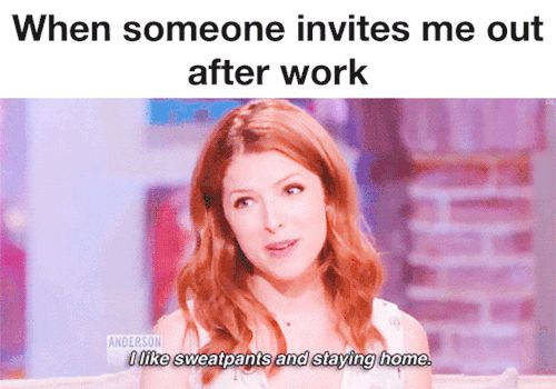 When someone invites me out after work. 25 Gifs For Nurses That Show Our Lives In Hilarious Detail #nursebuff #nursegifs #nursehumor