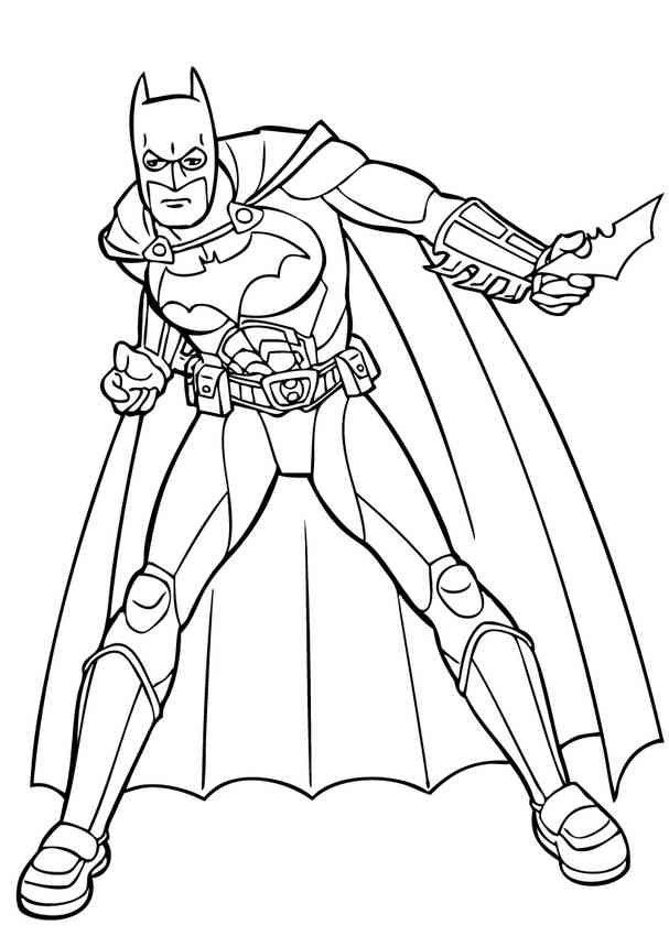 Batman ausmalbilder gratis - Ausmalbilder für kinder