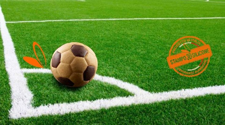 #palla #calcio Stampi in silicone alimentare per realizzare una palla da calcio