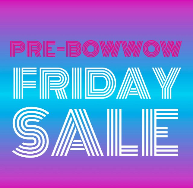 Get a head start on your Black Friday shopping with our pre-bowwow deals. Up to 50%off! mylittleamigo.com