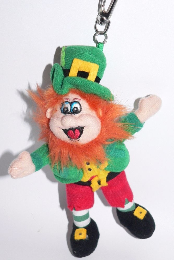 Allied Finnegan Leprechaun Plush Stuffed Doll Ginger