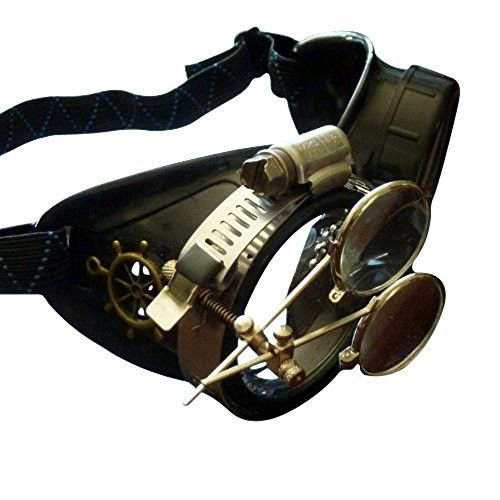 Steampunk Victorian Goggles welding Glasses diesel punk--rsw https://www.steampunkartifacts.com